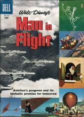 Four Color Comics (Dell - 1942) -836- Walt Disney's Man in Flight