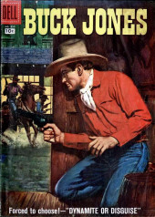 Four Color Comics (Dell - 1942) -850- Buck Jones: Dynamite or Disguise