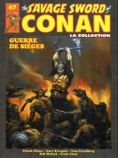 Savage Sword of Conan (The) (puis The Legend of Conan) - La Collection (Hachette) -47- Guerre de sièges