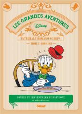 Les grandes aventures Disney de Romano Scarpa -5- Les lentilles de Babylone et autres histoires (1960-1961)