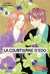 La courtisane d'Edo -8- Tome 8