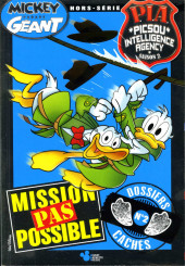 Mickey Parade Géant Hors-série / collector -HS21- Mickey Parade Géant (hors série) - PIA P.I.A. Picsou Intelligence Agency Saison 2 - Mission pas possible - dossiers cachés - n° 2 (sur 4)
