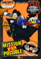 Mickey Parade Géant Hors-série / collector -HS22- Mickey Parade Géant (hors série) - PIA P.I.A. Picsou Intelligence Agency Saison 2 - Mission pas possible - dossiers cachés - n° 3 (sur 4)