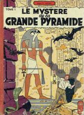 Blake et Mortimer (Historique) -3a56- Le mystère de la Grande Pyramide - Le Paryrus de Manéthon