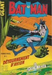 Batman Géant (Sagédition - 1re série) -1- Détournement d'avion