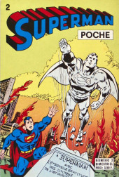 Superman (Poche) (Sagédition) -2- Superman poche N°2