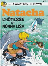 Natacha -7b2011- L' hôtesse et Mona Lisa