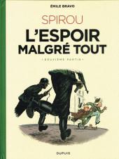 Spirou et Fantasio (Une aventure de.../Le Spirou de...) -15- L'Espoir malgré tout - Deuxième partie - Un peu plus loin vers l'horreur
