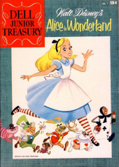 Dell Junior Treasury (1955 - 1957) -1- Walt Disney's Alice in Wonderland