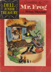 Dell Junior Treasury (1955 - 1957) -4- Adventures of Mr. Frog and Miss Mousie