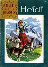 Dell Junior Treasury (1955 - 1957) -6- Heidi