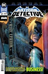 Detective Comics (1937), période Rebirth (2016) -AN02- Adam raise a cain