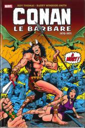 Conan le barbare : l'intégrale -1- 1970-1971