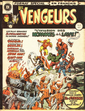 Les vengeurs (Éditions Héritage) -2- L'invasion des hommes de la lave!