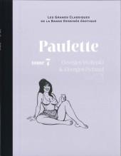 Les grands Classiques de la Bande Dessinée érotique - La Collection -8663- Paulette - Tome 7