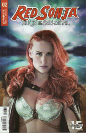 Red Sonja: Birth of the She Devil -2C- Issue #2
