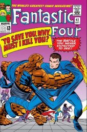 Fantastic Four (1961) -42- To save you, why must i kill you?