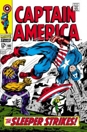 Captain America (Marvel comics - 1968) -102- The sleeper strikes
