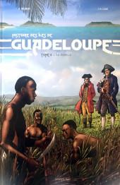 Histoire des îles de Guadeloupe -2- L'île Rebelle
