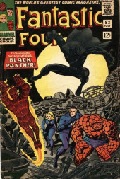 Fantastic Four (1961) -52- Introducing: The Sensational Black Panther!