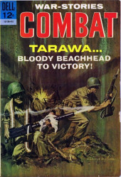 Combat (Dell - 1961) -14- Tarawa... Bloody Beachhead to Victory!