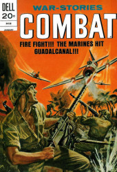 Combat (1961) -38- Fire Fight!!! The Marines Hit Guadalcanal!!!