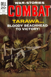 Combat (Dell - 1961) -40- Tarawa... Bloody Beachhead to Victory!