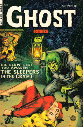 Ghost (Fiction House - 1951) -6- The Sleepers in the Crypt