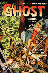 Ghost (Fiction House - 1951) -9- It crawls by night/The devil seeds
