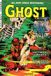 Ghost (Fiction House - 1951) -10- Halfway to Hades/The ghost of the Gorgon