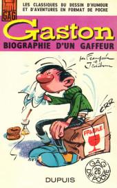 Gaston (Hors-série) -HS- Gaston, Biographie d'un gaffeur