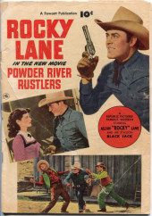 Fawcett Movie Comic (1949/50) -6a- Powder River Rustlers