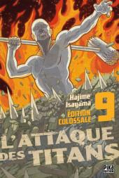 L'attaque des titans - Édition Colossale -9- Tome 9