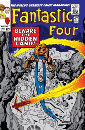 Fantastic Four (1961) -47- Beware the hidden land!