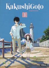 Kakushigoto -3- Tome 3