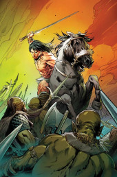 Conan the Barbarian Vol 3 (Marvel - 2019) -3VR01- Land Variant Textless