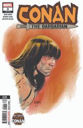 Conan the Barbarian Vol 3 (Marvel - 2019) -3VR03- Second Printing Variant