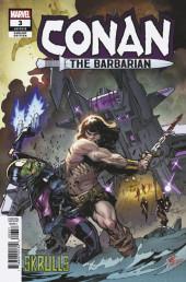 Conan the Barbarian Vol 3 (Marvel - 2019) -3VR04- Skrulls Variant