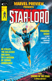 Marvel Preview (Marvel comics - 1975) -4- Starlord first house: earth!