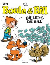 Boule et Bill -02- (Édition actuelle) -24c2019- Billets de Bill