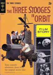 Movie comics (Gold Key) -211- The Three Stooges in Orbit