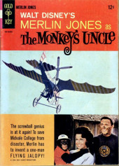 Movie comics (Gold Key) -510- Walt Disney's Merlin Jones as The Monkey's Uncle