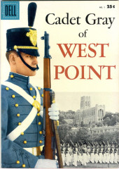 Cadet Gray of West Point (Dell - 1958) - Cadet Gray of West Point