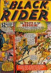Black Rider (Atlas - 1950) -9- The Wrath of the Redskin!