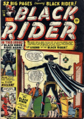Black Rider (Atlas - 1950) -10- The Legend Of The Black Rider!