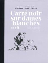 Les grands Classiques de la Bande Dessinée érotique - La Collection -8888- Carré noir sur dames blanches