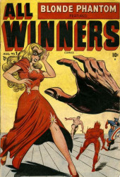 All Winners (puis All-Western Winners et Western Winners) (Timely/Atlas/Marvel - 1948) -1- Blonde Phatom featured All Winners