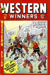 All Winners (puis All-Western Winners et Western Winners) (Timely/Atlas/Marvel - 1948) -4- Black Rider -- Unmasked!
