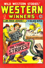 All Winners (puis All-Western Winners et Western Winners) (Timely/Atlas/Marvel - 1948) -6- The Cobra Strikes!