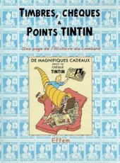 (AUT) Hergé - Timbres, chèques & points Tintin
